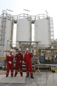 New Acid Tank Chemical Storage skid for Shell Qatar - Mosman